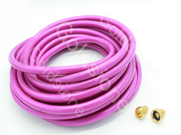 household PVC garden water hoses