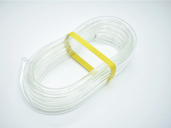 PVC transparent clear hose with food grade quality