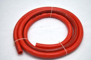 Corrugated flexible PVC piping is often used in outdoor projects, or as plumbing in spas or swimming pools where there is not enough space for sturdier plumbing. Occasionally, when using these flexible PVC air hoses, you'll have a need to connect two separate PVC air hoses. In order to do this properly -- and create a water-tight seal -- you'll need a special kind of connector designed for this purpose.  Things You'll Need -Flexible connector for corrugated PVC air hose -Flat-blade screwdriver  Insert the end of the first piece of PVC air hose into one side of the flexible connector. If the connector is of the appropriate size, the PVC air hose will squeeze in without an excessive amount of force. If you need to crimp or bend the PVC air hose in order to force it in, use a larger connector. Insert the end of the second piece of PVC air hose into the other side of the flexible connector. Use your flat-blade screwdriver to tighten down the clamps on both ends of the connector. Continue tightening until the resistance makes it difficult to turn the screws anymore. This will create a water-tight seal on the PVC air hose.   <img src=
