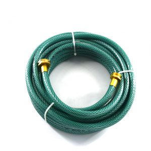 rubber or garden hose