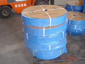 8″ PVC lay flat hose