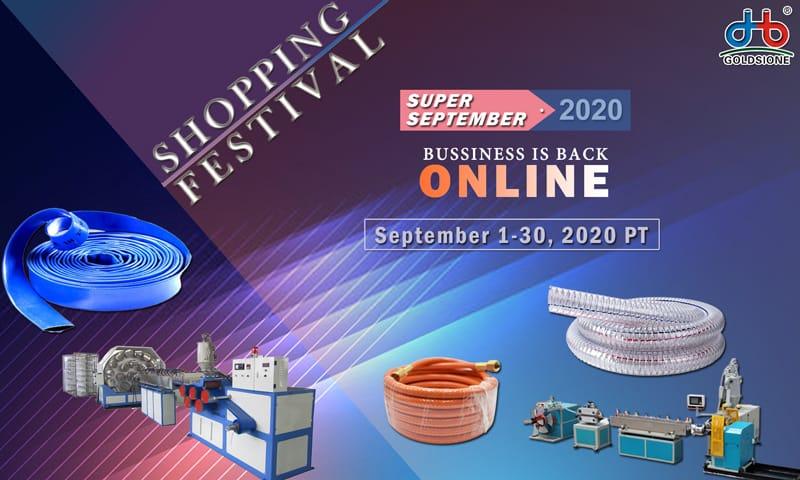 Alibaba Shopping Festival Online on September